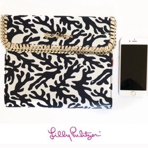 Lily Pulitzer Leather Folding Leather Tablet Case